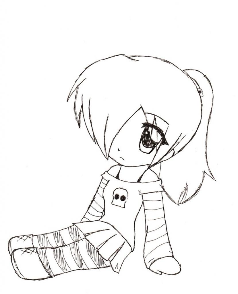 829x1024 Cute Chibi Animals Drawing