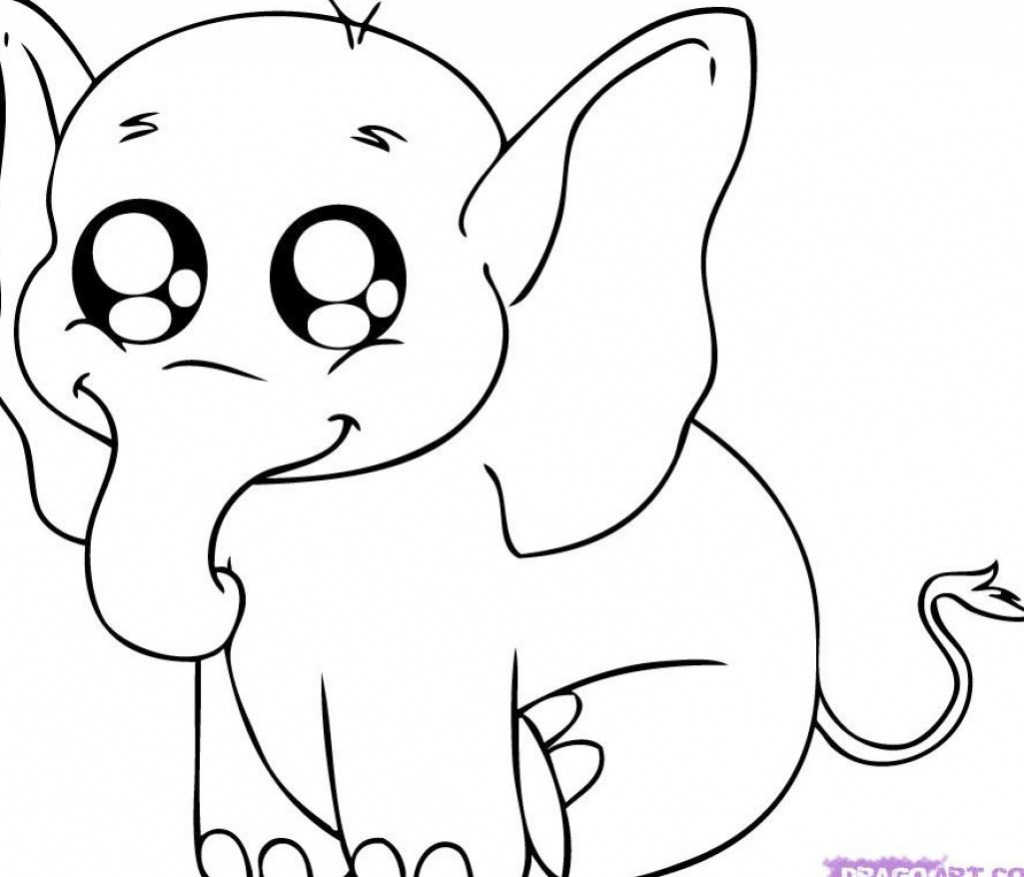 1024x877 Drawings Of Cute Animals Cute Anime Animal Drawings Wallpapers