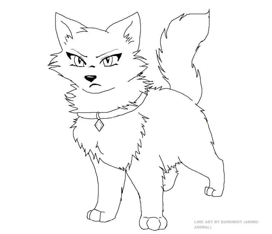 900x773 pet cat line art by anime animal on deviantart