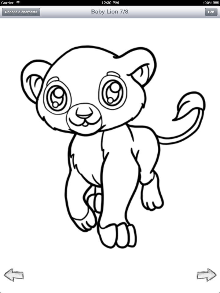 720x960 view original size. pet cat line art by anime animal. cute anime