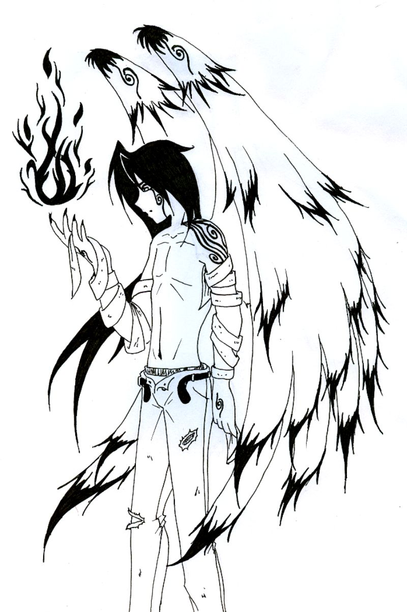 800x1202 Angel Anime Cliparts