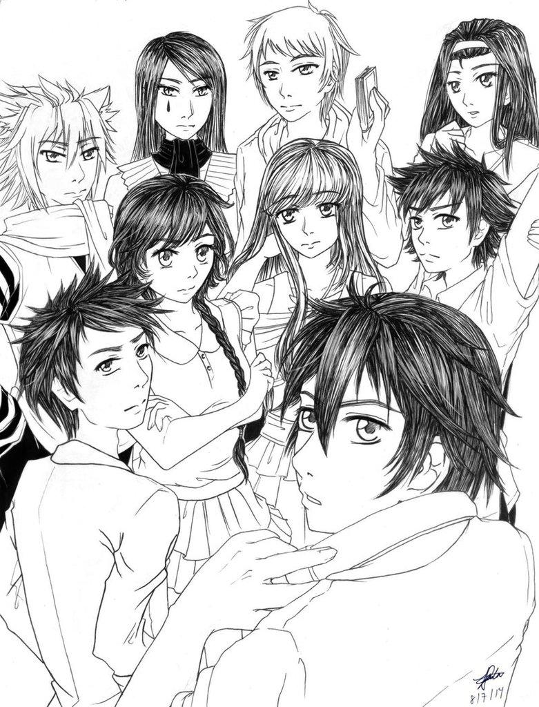 781x1024 Best Anime Drawing Pilipinas BAD[PH] Family by lanlazo on DeviantArt