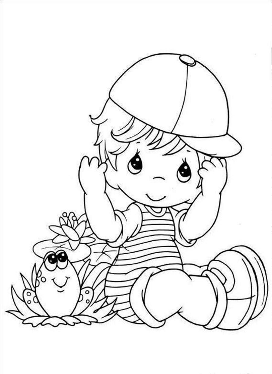 900x1240 Anime Baby Boy Coloring Pages