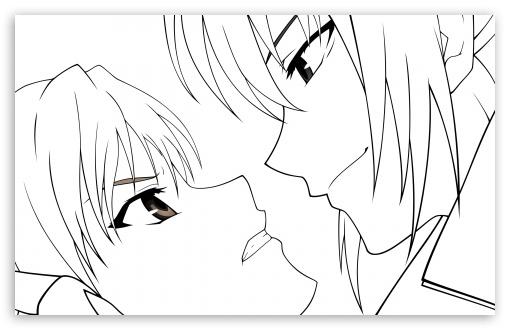 510x330 Canaan Anime Drawing Wallpaper Line Art I Like