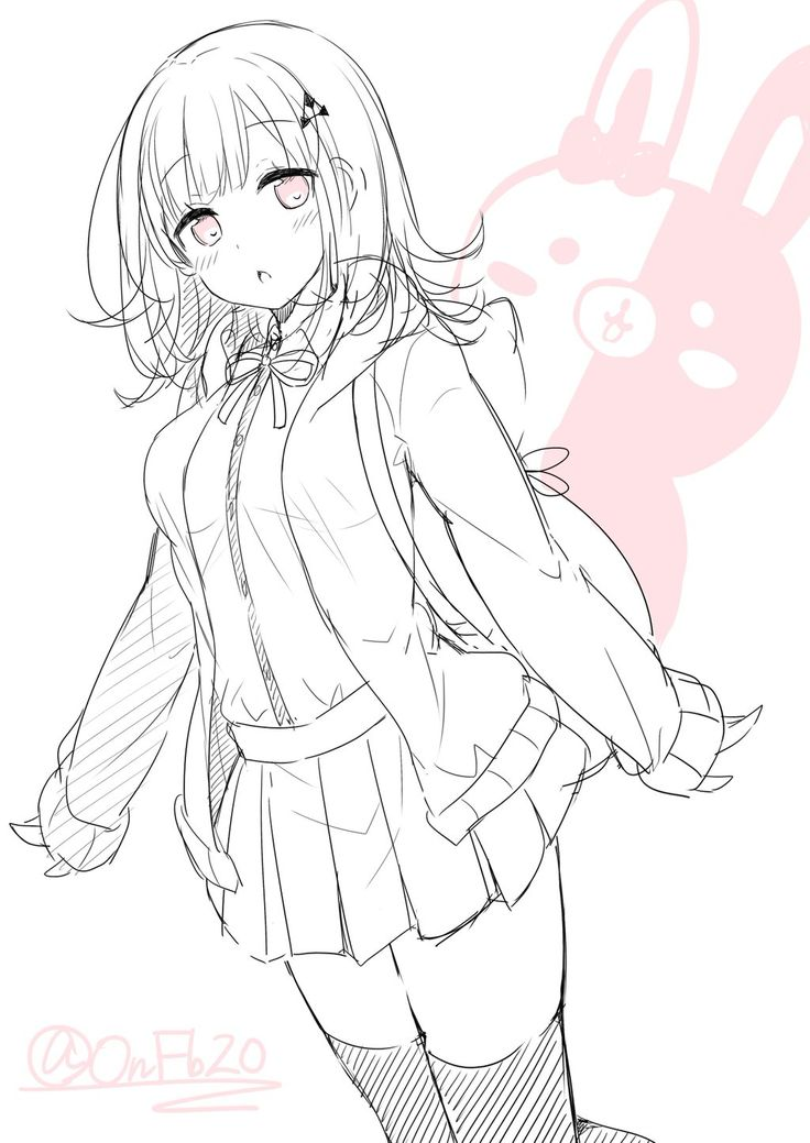 736x1039 346 Best Sketch Anime Images