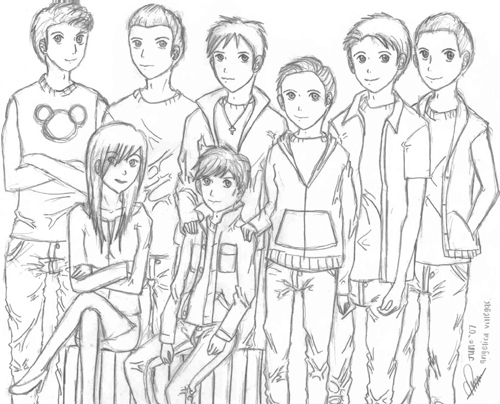 500x404 The Outsiders Images Outsider Drawings Wallpaper And Background