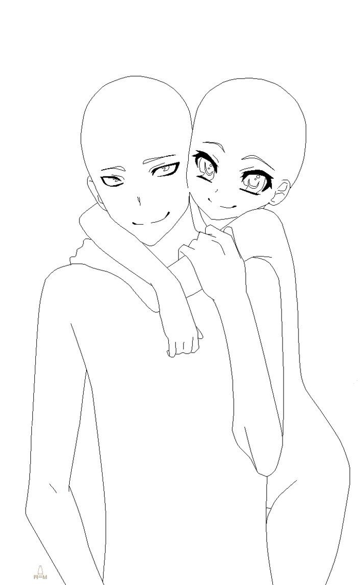702x1138 Easy To Draw Anime Couples Full Body 85 Best Anime Drawing