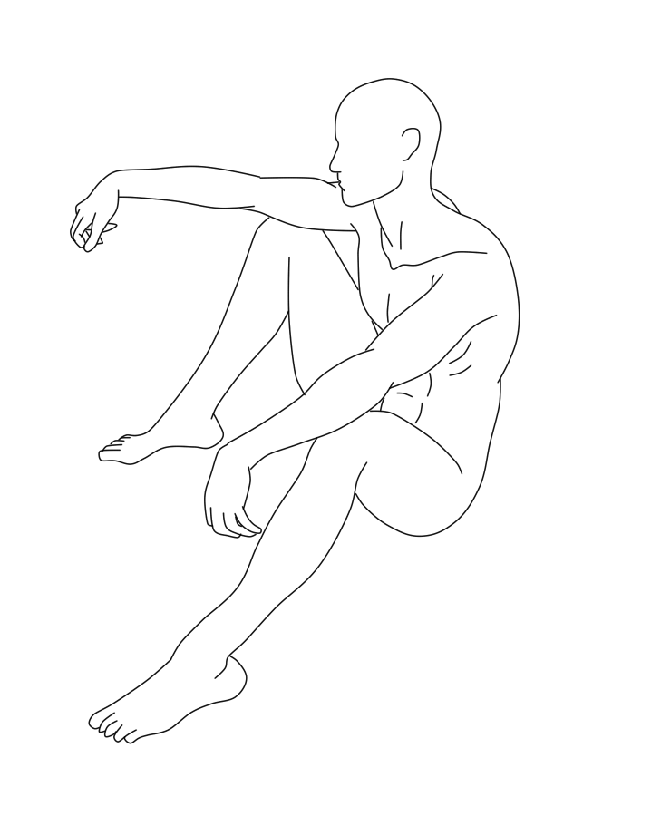 718x900 Male Pose 06 By Death Tendency