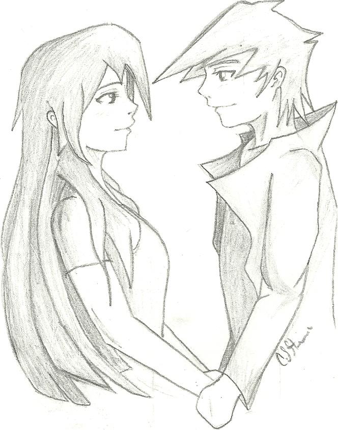664x845 Manga Boy And Girl By Draversx