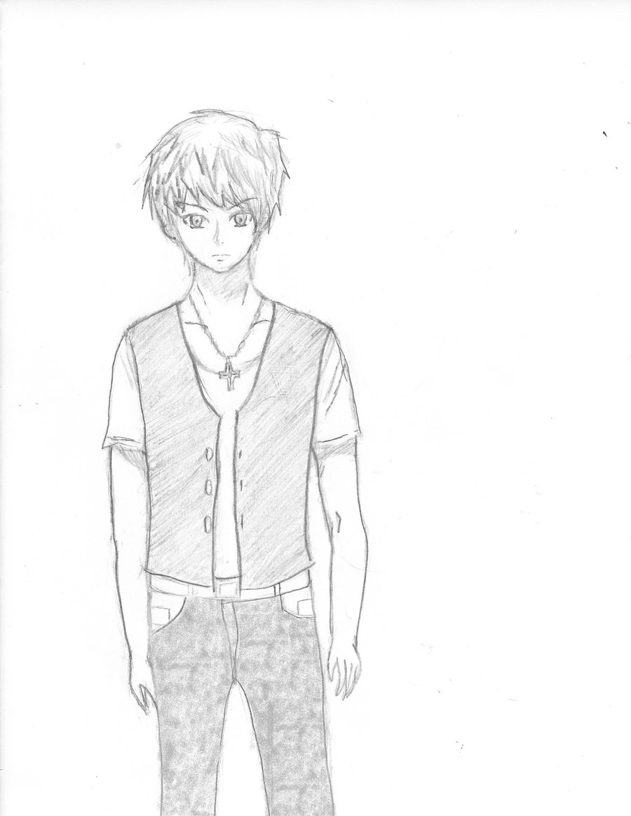 anime boy drawing at getdrawings com free for personal use anime