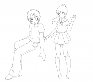 302x268 How to draw how to draw anime for kids