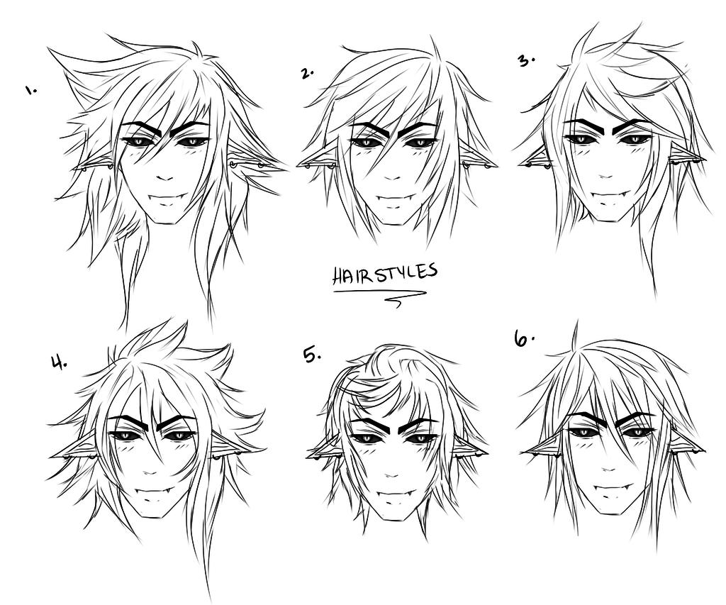 1024x853 Cool Anime Male Hairstyles Hair