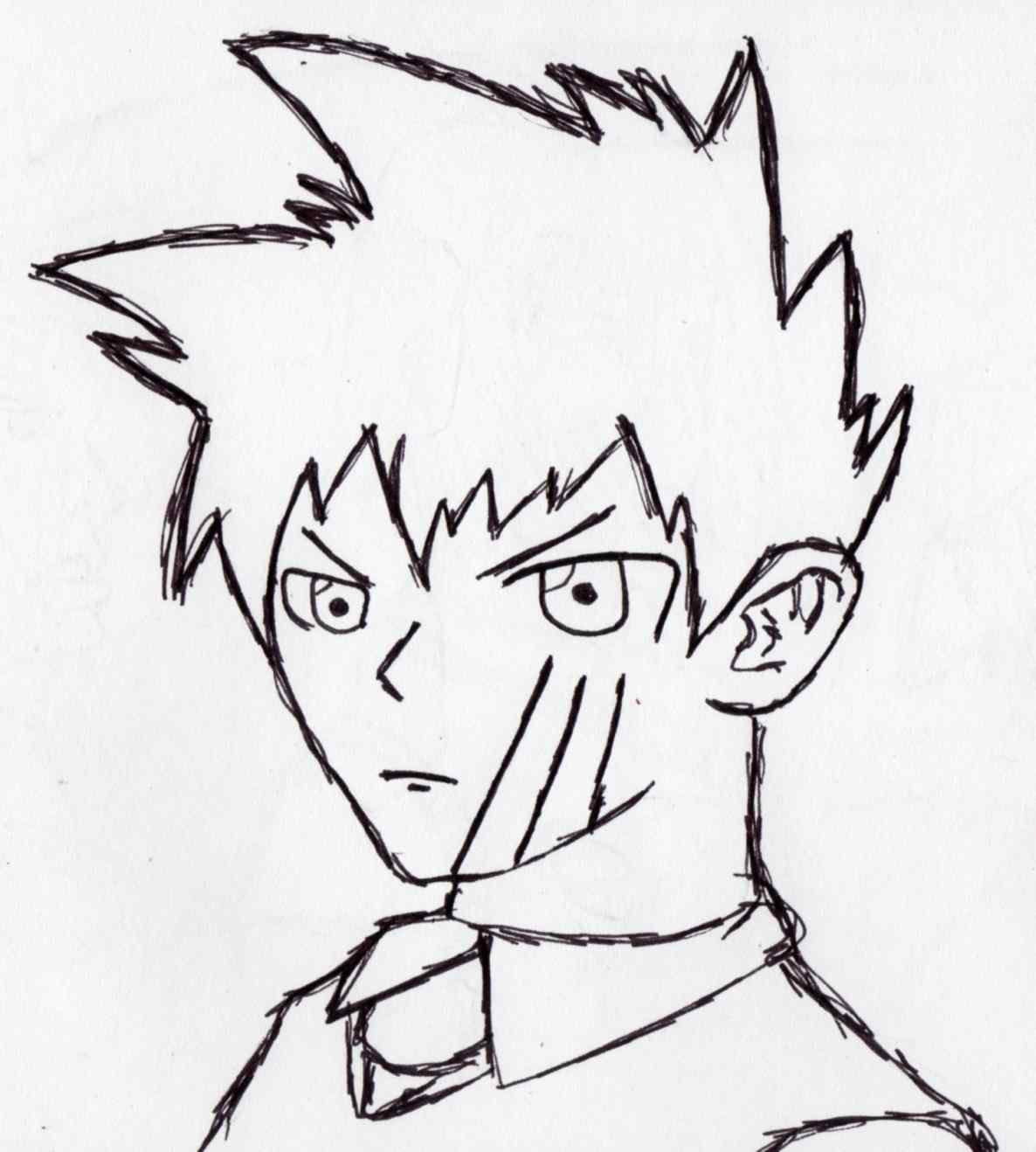 1186x1318 Face By Mzrz World Different How To Draw Anime Boy Hair Angles