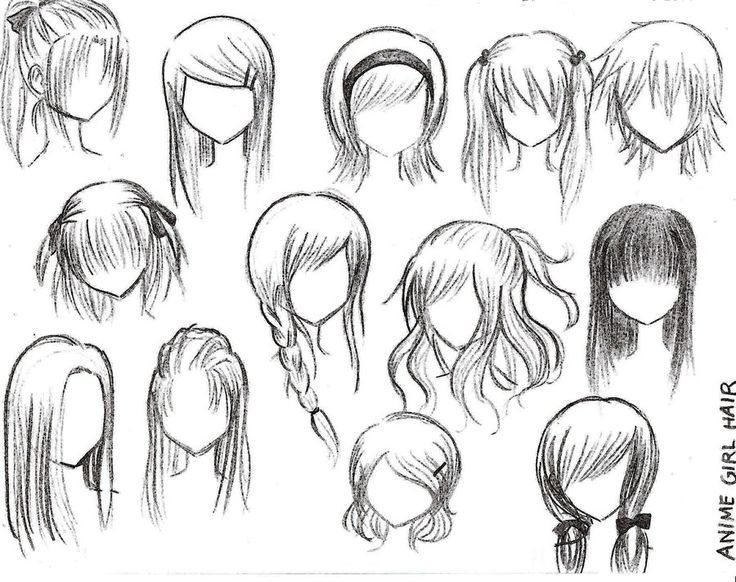 736x582 Pictures Easy To Draw Anime Hair,