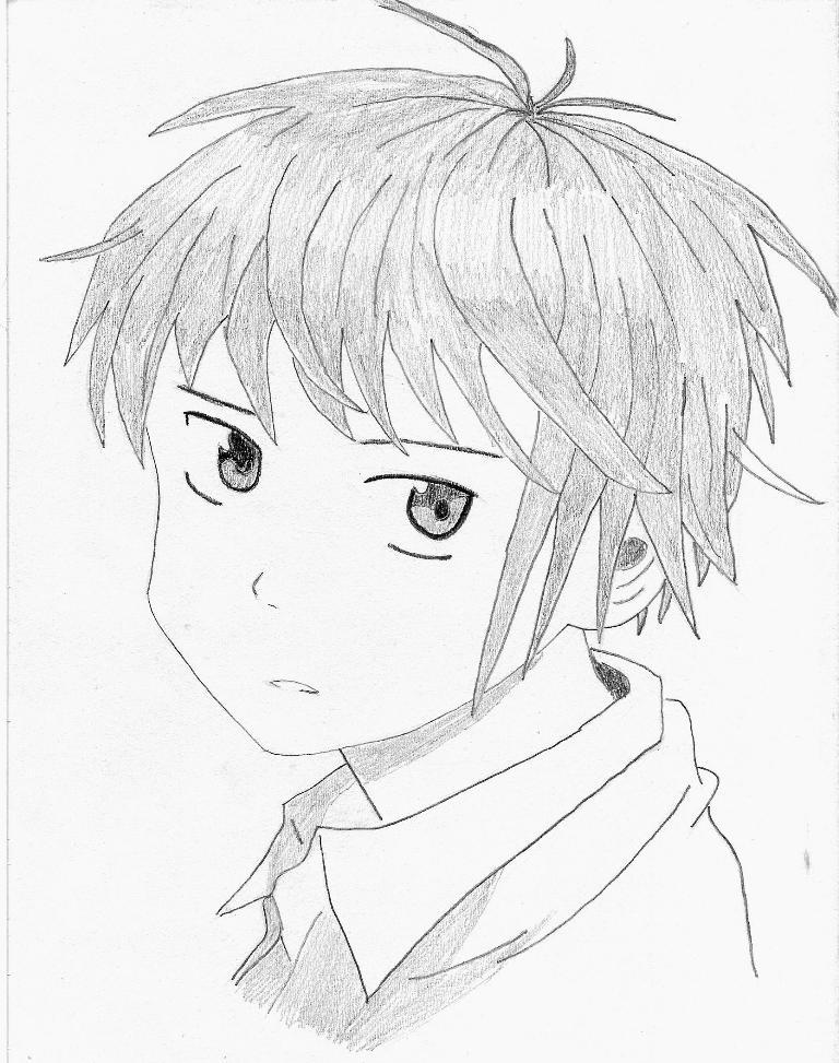 768x973 Side Anime Boy By Incredulity