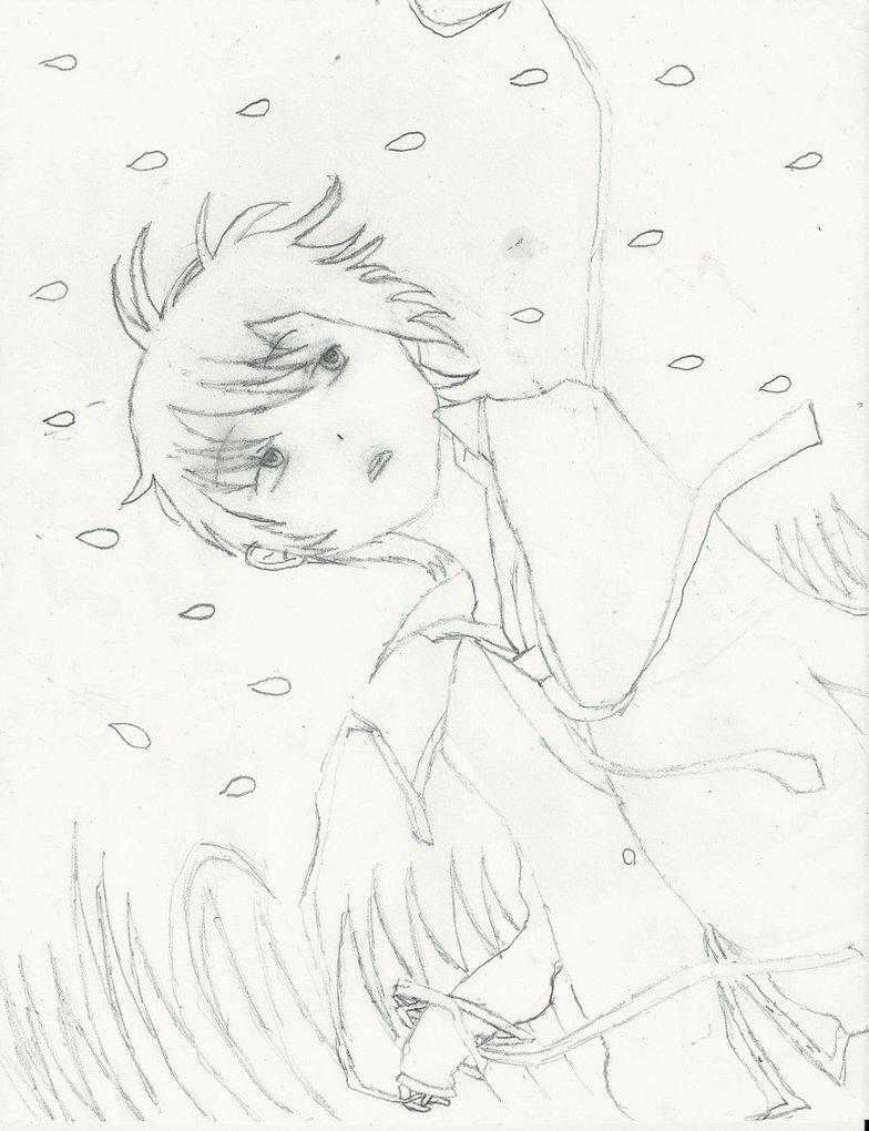784x1020 Anime Boy With Black Hair By Hinamorikonachan