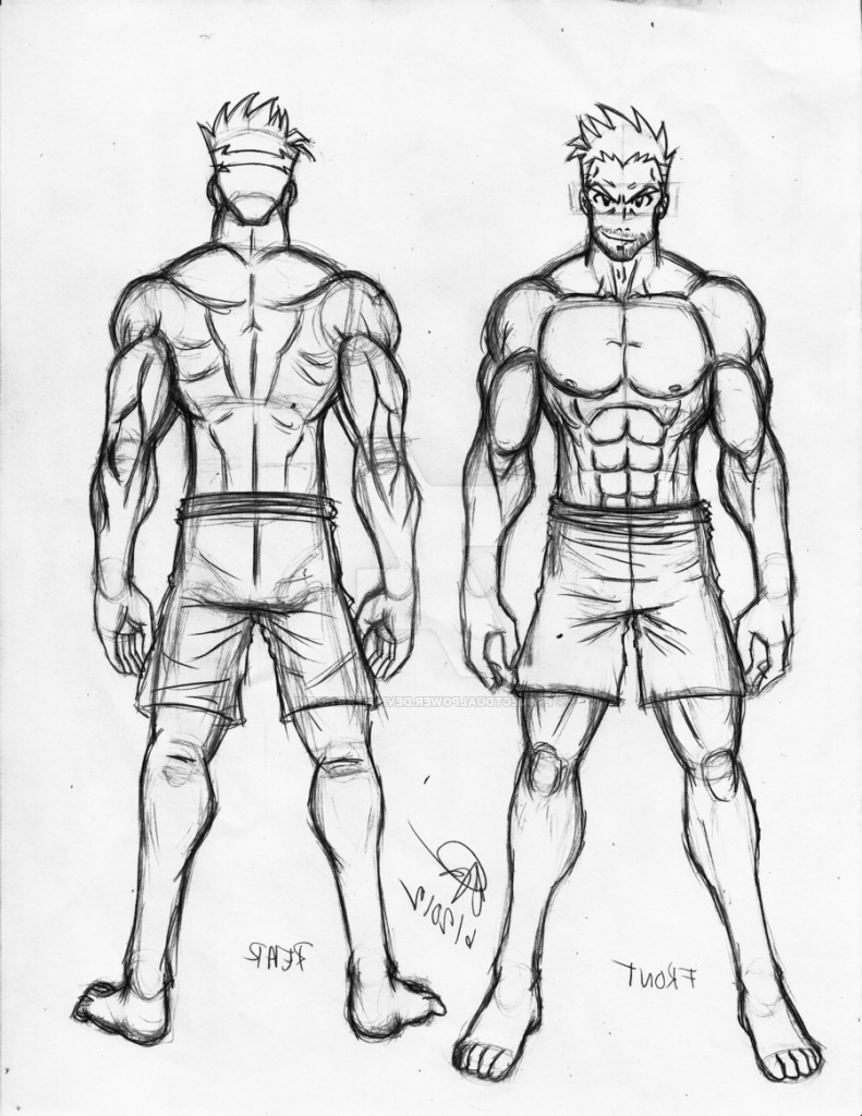791x1024 Anime Drawing Easy Whole Body Boys Anime Full Body Drawings