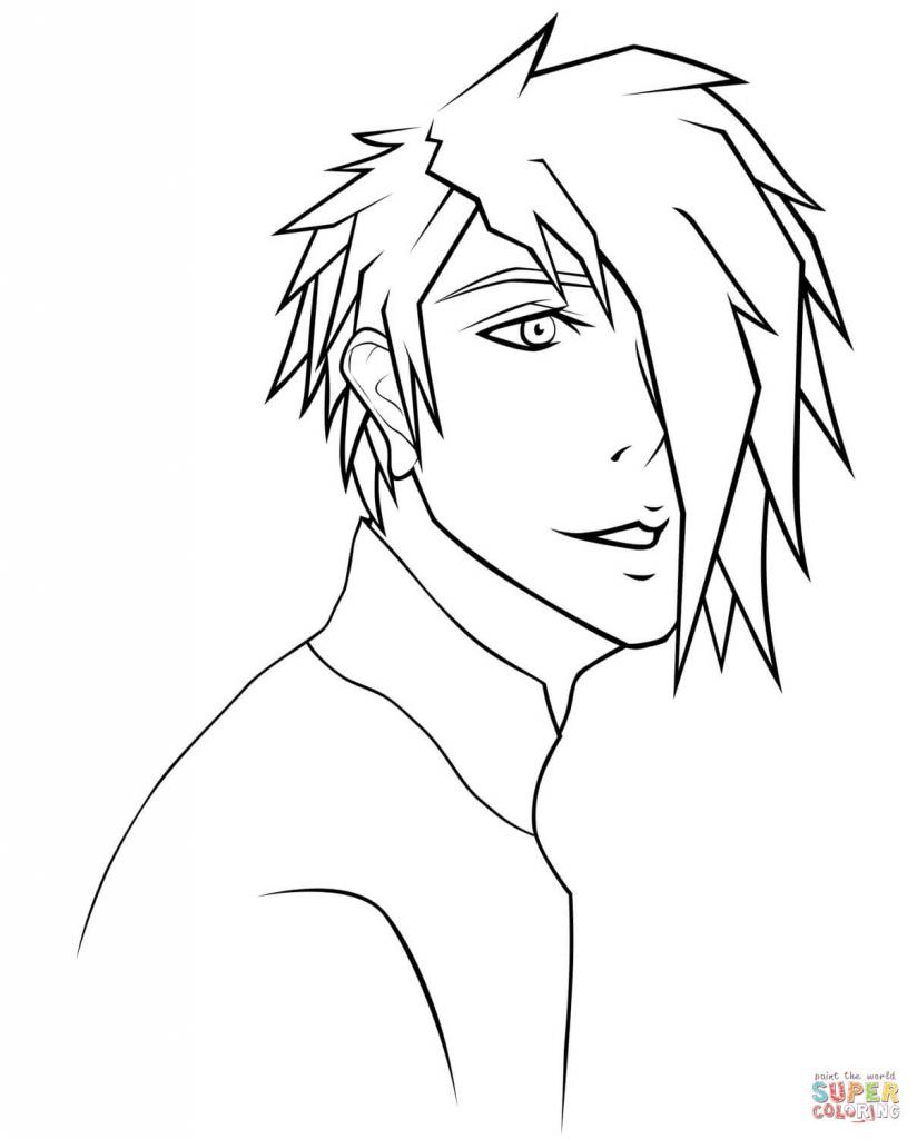 824x1024 Draw Anime Boys Next Anime Boy Reixjune Coloring Page Free