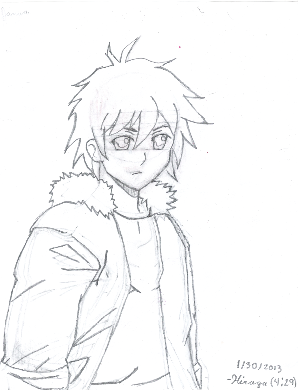 1024x1338 Random Anime Guy By Spirit Of The Kokiri