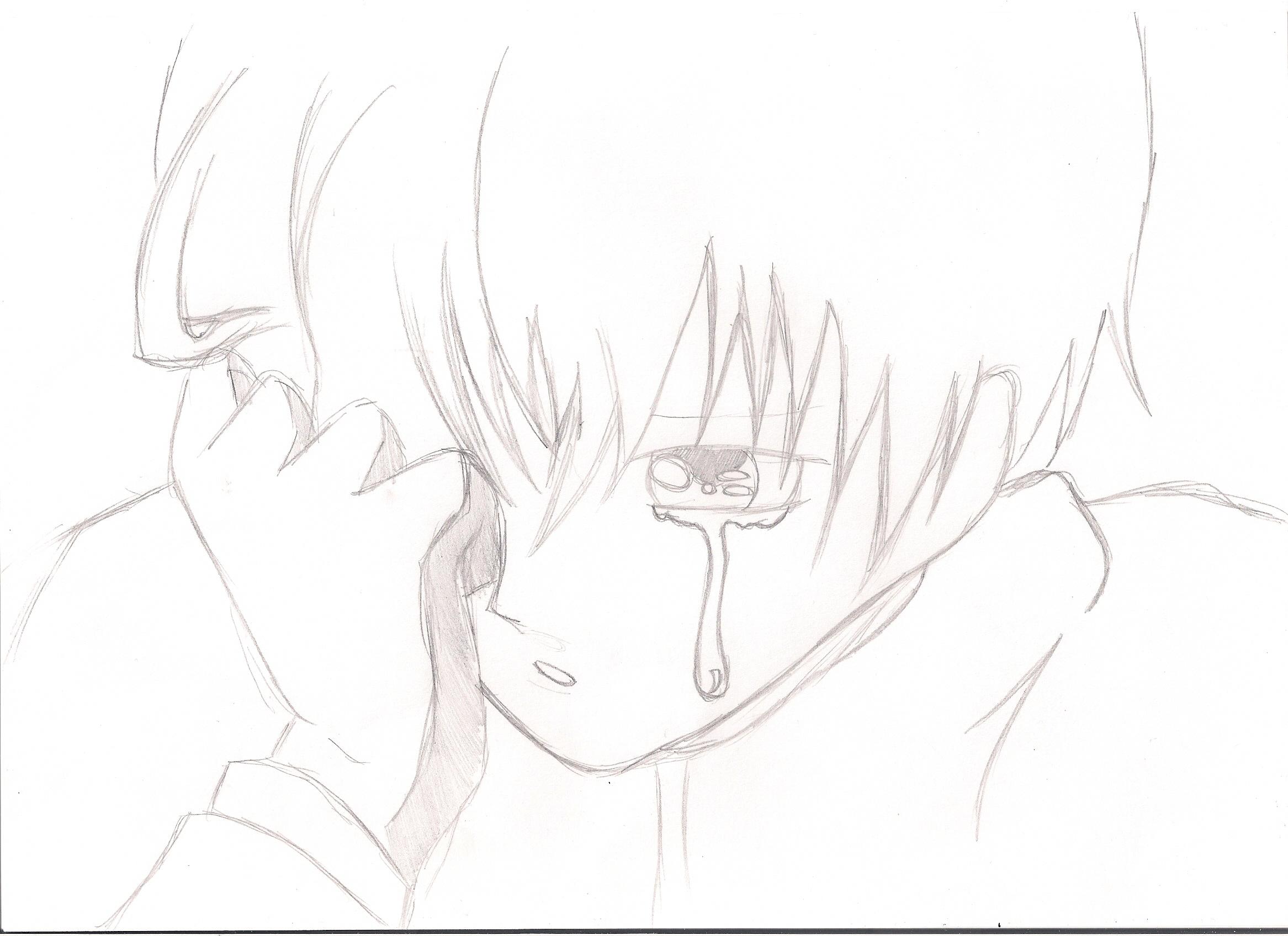 2333x1696 Sad Face Boy Drawing Crying Anime Boy Drawing
