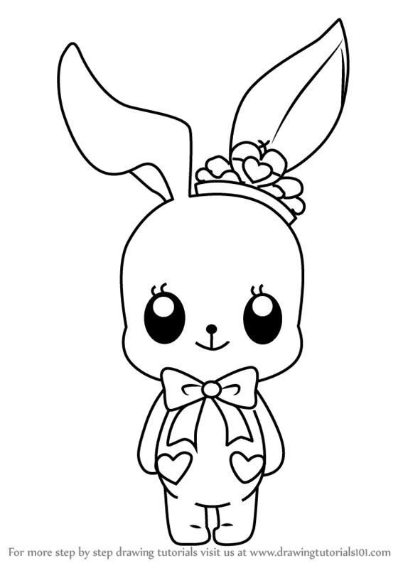 567x800 Learn How To Draw Little Bunny From Aikatsu Stars! (Aikatsu Stars