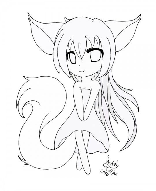 Anime Cat Ears Drawing At Getdrawings Com Free For Personal Use
