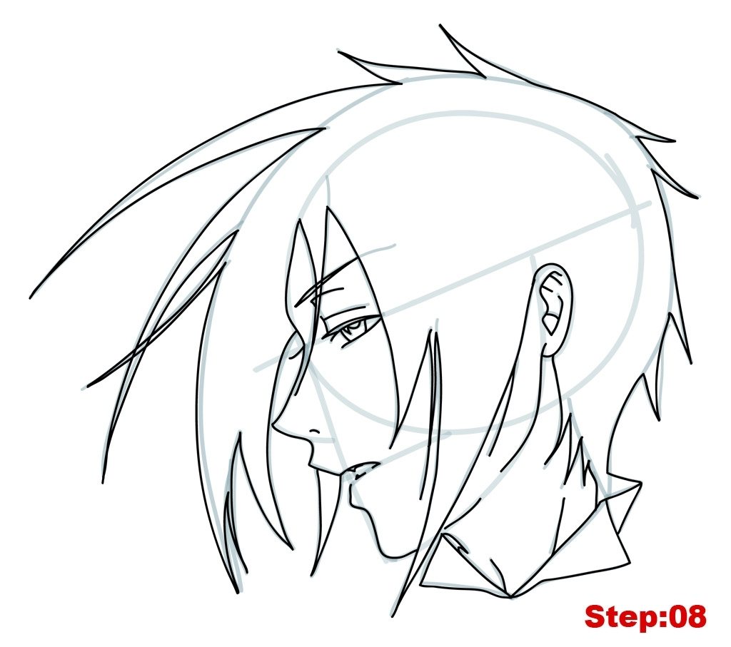 1024x907 Easy To Draw Anime Character How To Draw Anime Characters