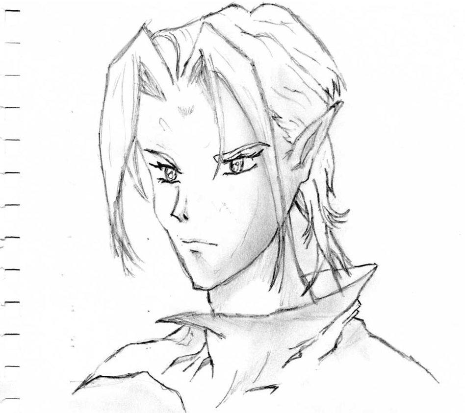 948x843 Anime Character Drawing By Animemasterman