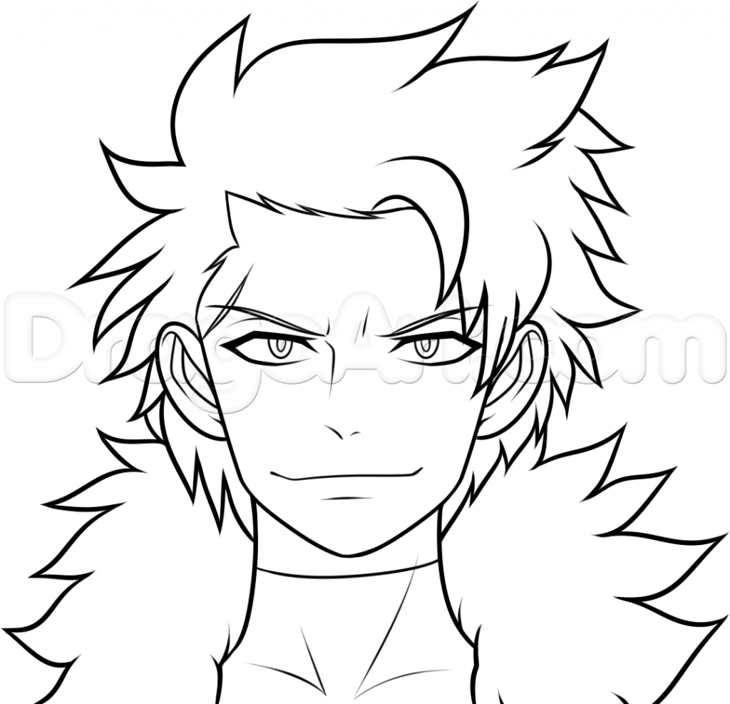 1024x987 Fairy Tail Drawings How To Draw Sting From Fairy Tail Step Step