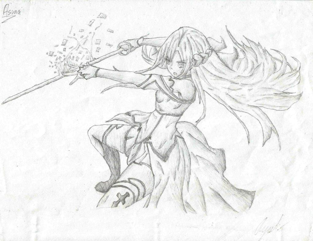 1019x785 I Like To Do Pencil Drawings Of Some Of My Favourite Anime