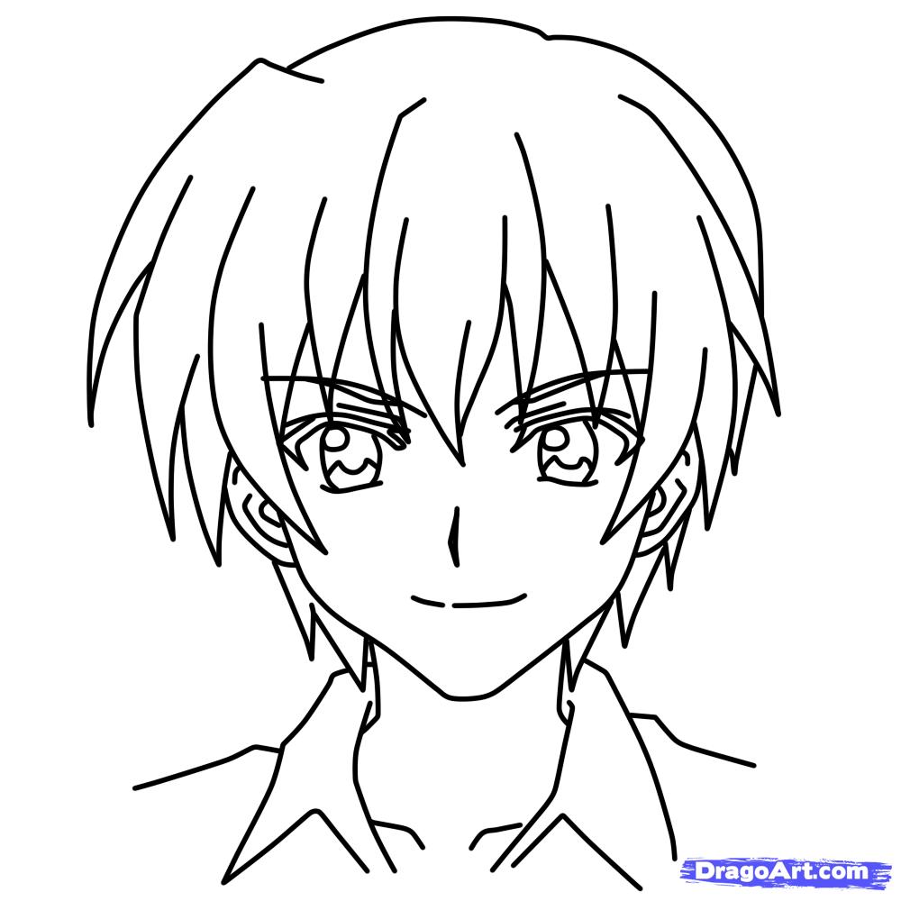 1000x1000 Anime Characters Drawing Learn How To Draw Keiichi Maebara