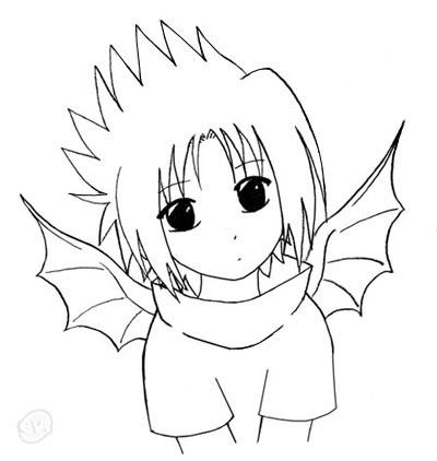 400x422 Anime Chibi Naruto Drawings
