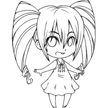 216x216 Amazing Colorings Chibi Cute Boys Drawing Coloring Page