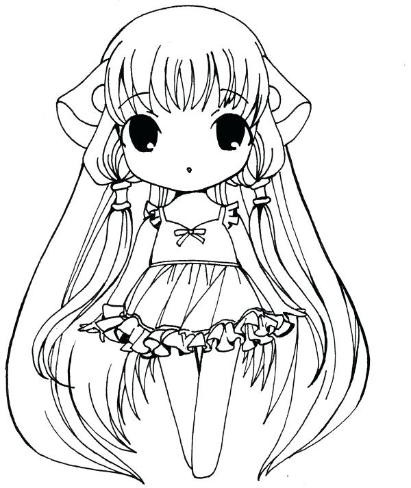 600x713 Cute Chibi Coloring Pages Princess Draw Coloring Page Chibi Anime