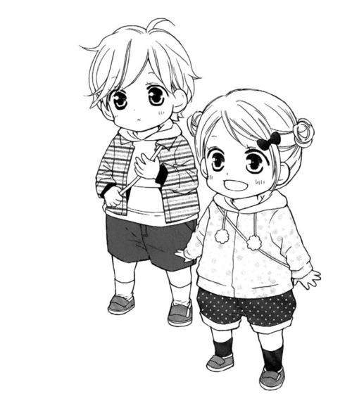 Anime Child Drawing
