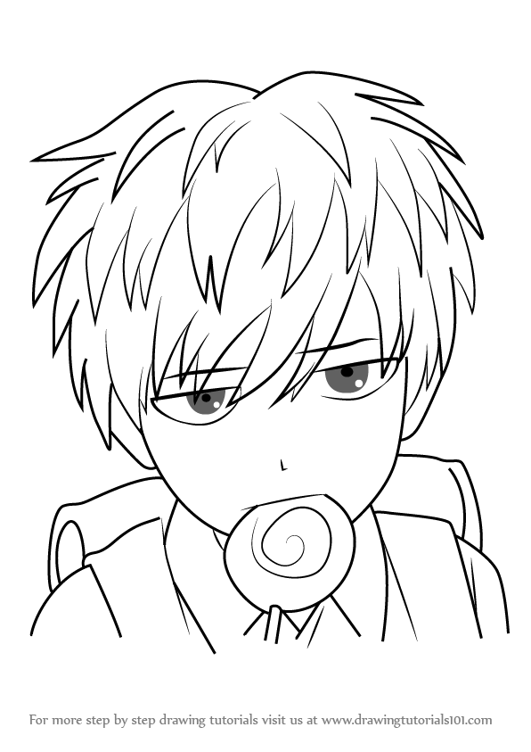 596x843 Learn How To Draw Child Emperor From One Punch Man (One Punch Man