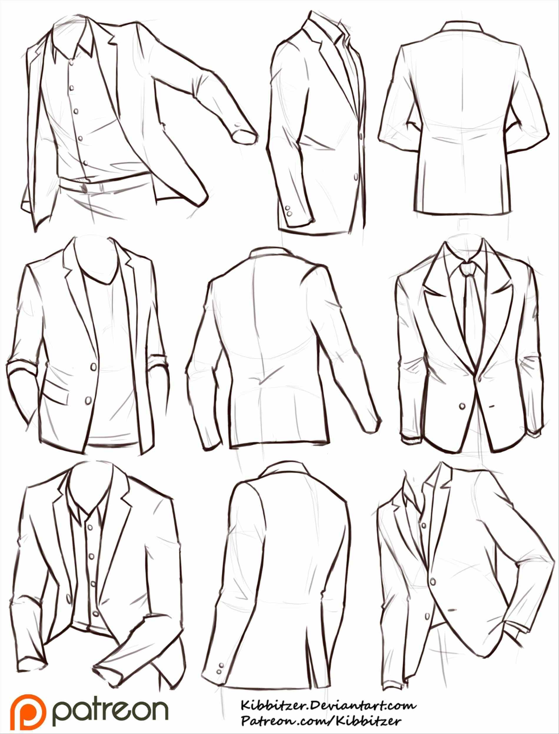 Anime Clothes Drawing at GetDrawings | Free download