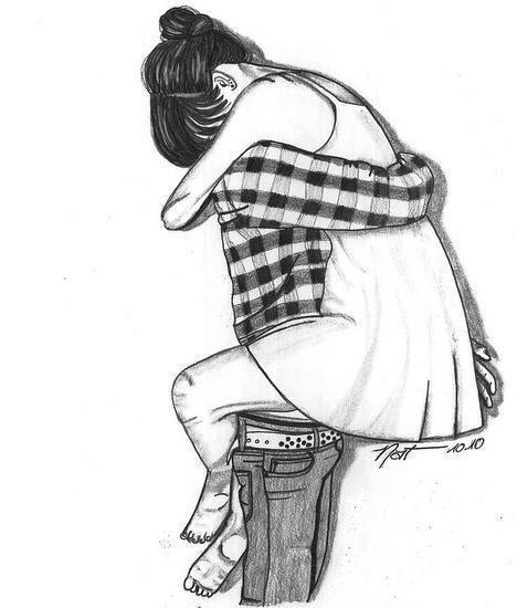 468x550 pencil sketches of cute couples hugging archives