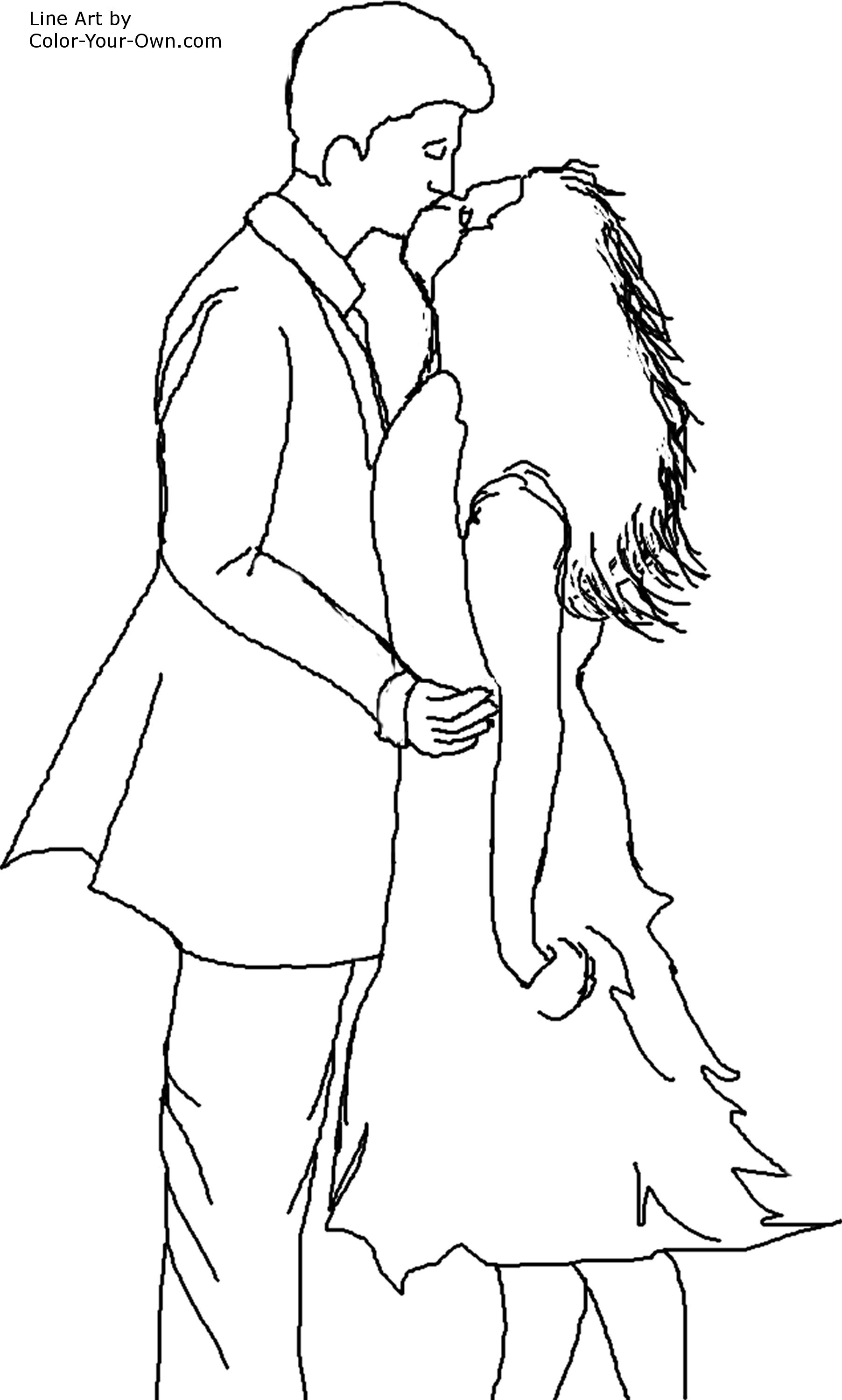 1804x3000 Cute Couple Coloring Pages Leversetdujour