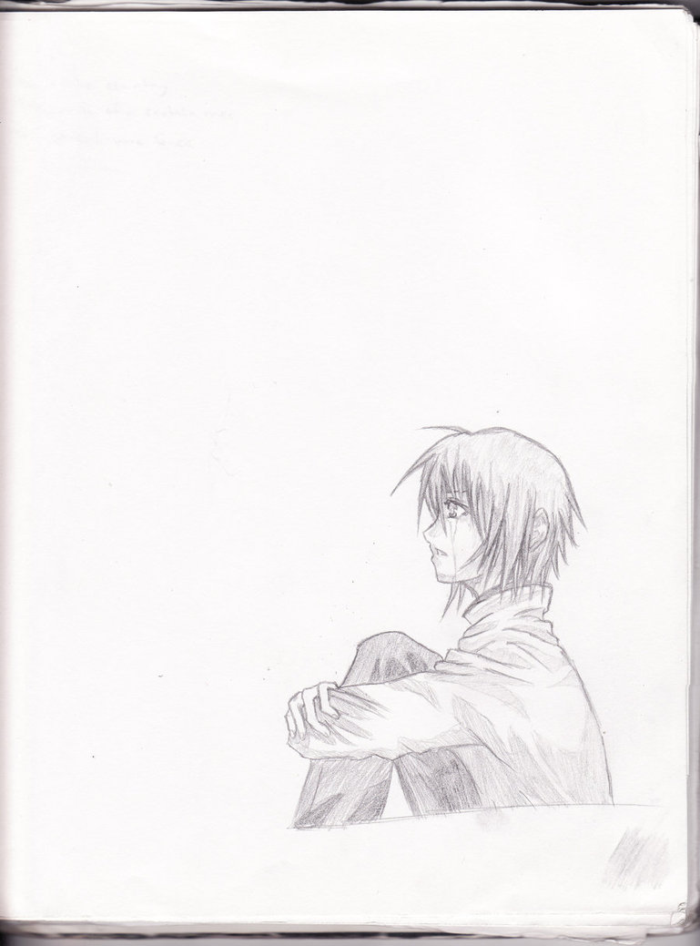 769x1039 Anime Boy Crying Redo By Aoi Ookami