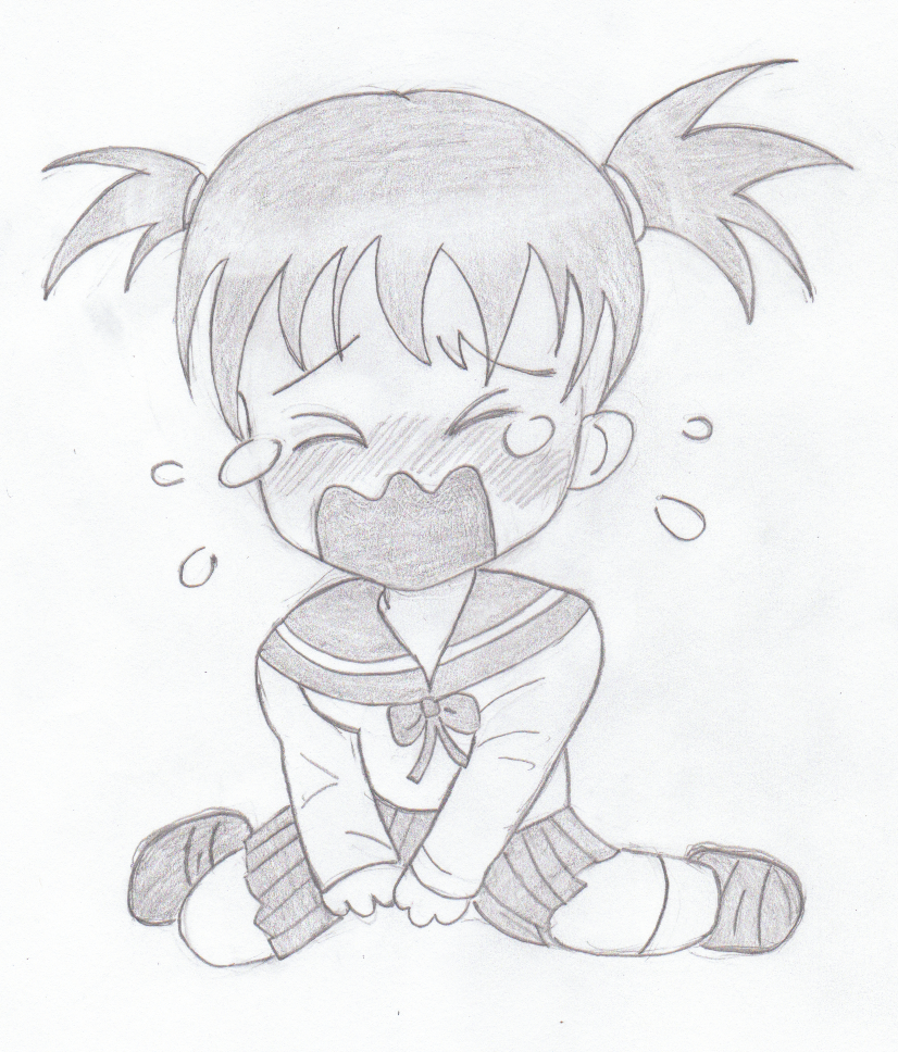 Anime Crying Drawing At Getdrawings Free Download