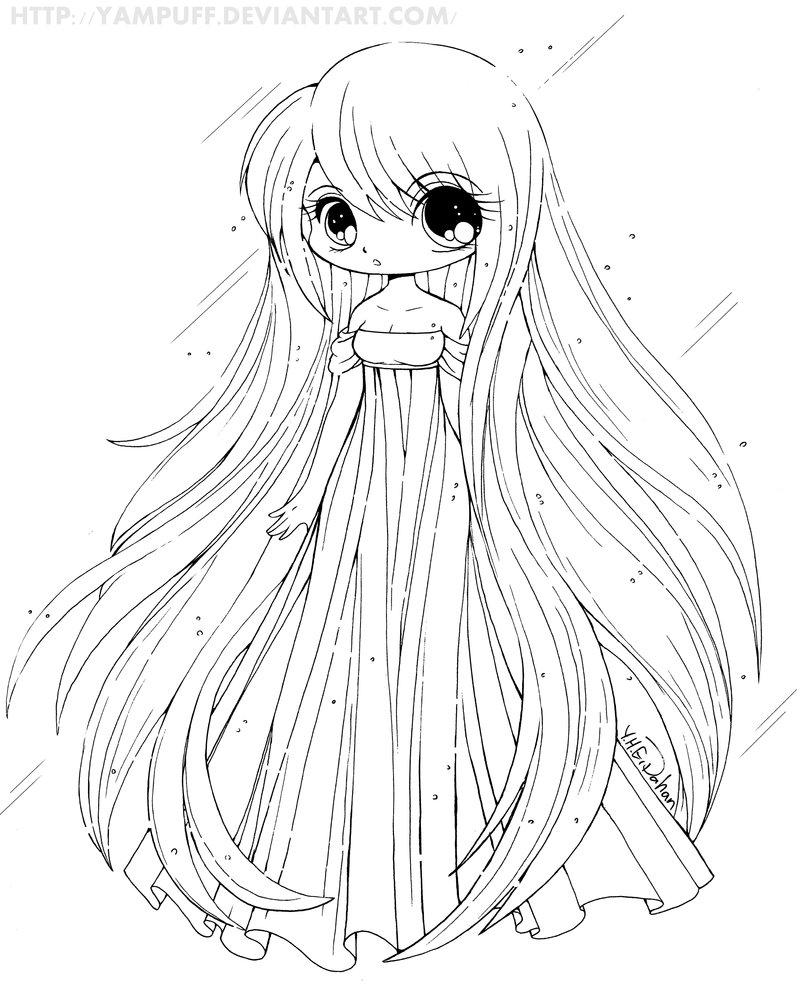 Anime Cute Drawing