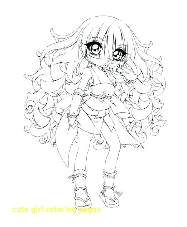 600x729 Best Of Anime Girl Coloring Pages Or Cute Girl Coloring Pages