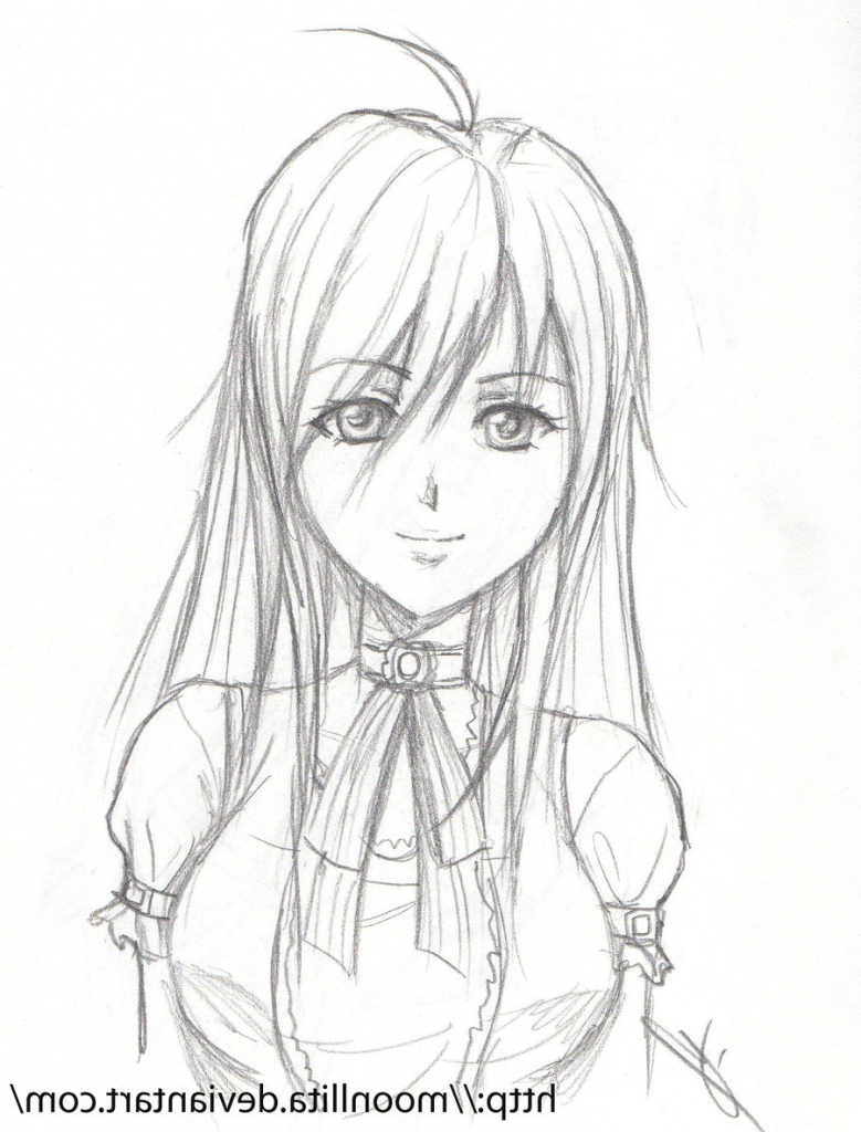 779x1024 Cute Anime Sketches Pencil Step By Step Cute Anime Sketches