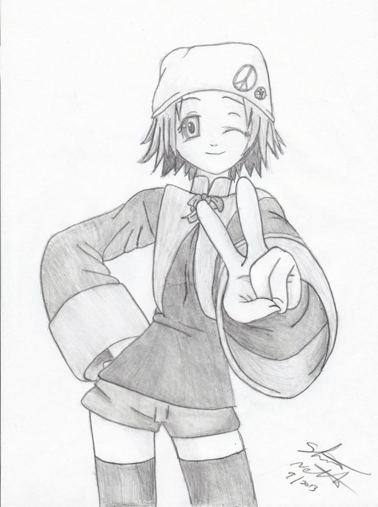 764x1024 Anime Sketches Cute Girl Cute Anime Girl Looking Sad Rusty182