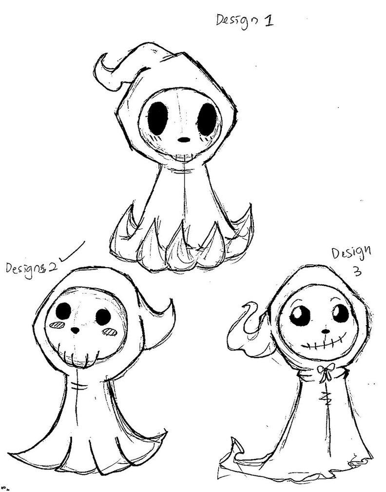 792x1009 Mascot Design Cute Grim Reaper By Anime Mangakadesu Voodoo Doll