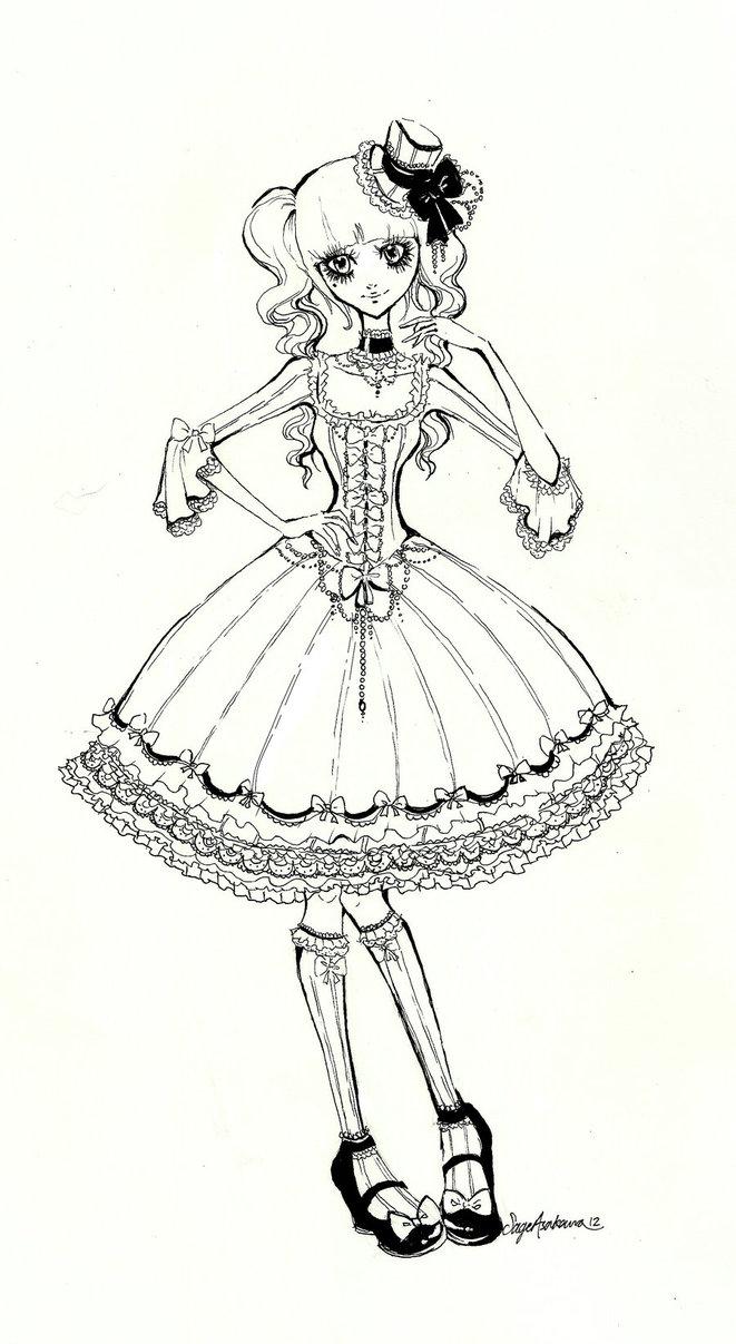 661x1207 Still Doll By Mirrei