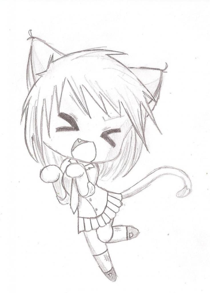 735x1024 Kawaii Anime Drawing Kawaii Anime Drawings Related Keywords Amp