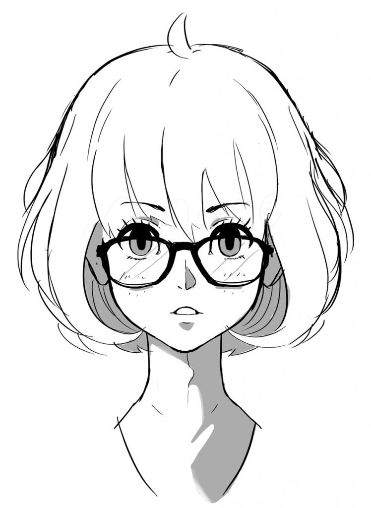748x1024 Anime Drawing Tumblr
