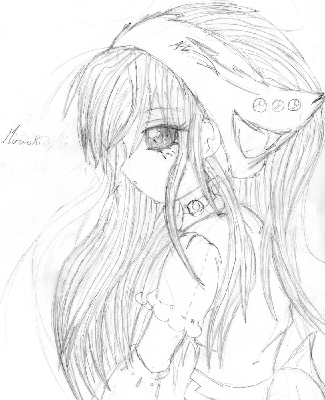 1137x1400 anime drawings